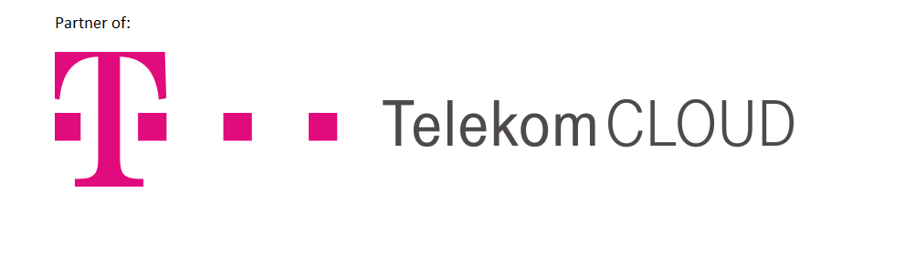 Partner of Telekom CLoud